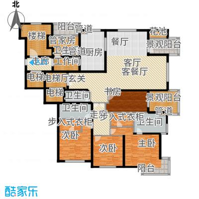 大华清水湾花园三期华府樟园301.00㎡I户型