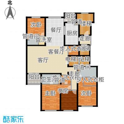 大华清水湾花园三期华府樟园274.00㎡H户型