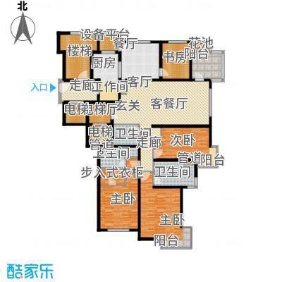 大华清水湾花园三期华府樟园227.00㎡G227m2户型