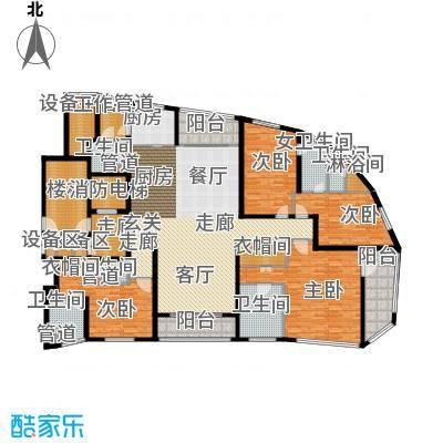 徐汇中凯城市之光270.00㎡1C户型