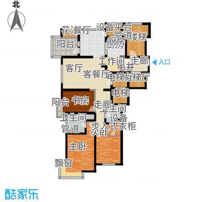 大华清水湾花园三期华府樟园180.00㎡E180m²户型