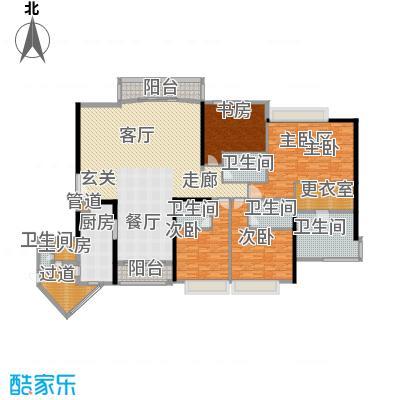 中粮海景壹号300.00㎡户型