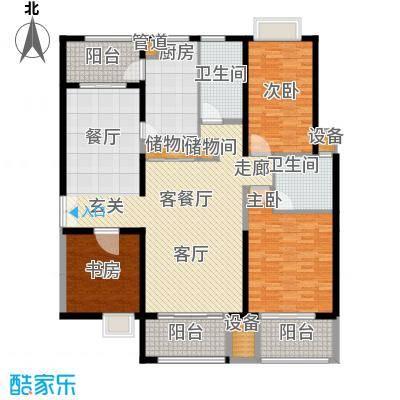 黄浦逸城169.00㎡G户型
