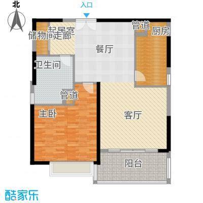 黄浦逸城108.00㎡F户型