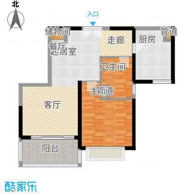 黄浦逸城88.00㎡B户型