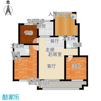 绿洲香格丽花园136.00㎡G户型
