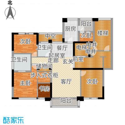 古北大成公馆153.00㎡C1户型