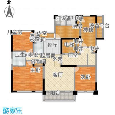 古北大成公馆163.00㎡C3户型