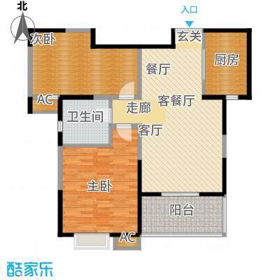 新弘国际城89.96㎡Ad户型