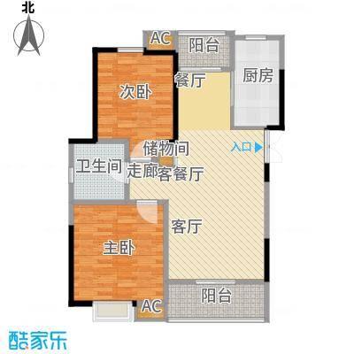 新弘国际城89.96㎡Ac户型