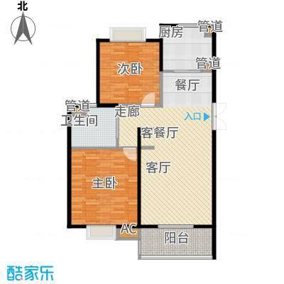 新弘国际城89.27㎡Aj户型