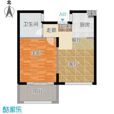 嵊泗天悦湾滨海度假村65.00㎡-B2户型