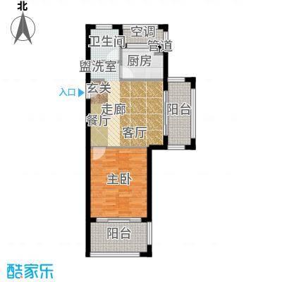 嵊泗天悦湾滨海度假村65.00㎡-B1户型