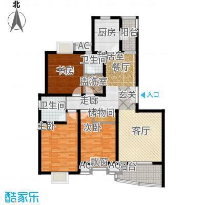 鼎鑫名流苑133.00㎡D户型