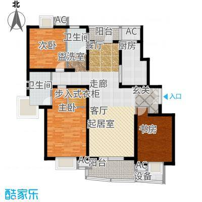 鼎鑫名流苑139.00㎡C户型
