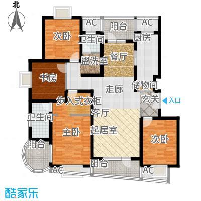 鼎鑫名流苑158.00㎡户型