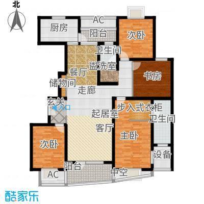 鼎鑫名流苑162.00㎡户型