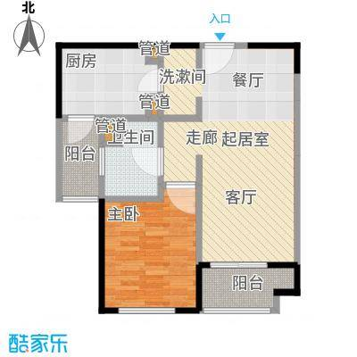 远雄徐汇园69.49㎡B户型
