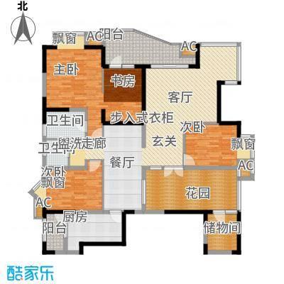 锦江帆影175.00㎡面积17500m户型