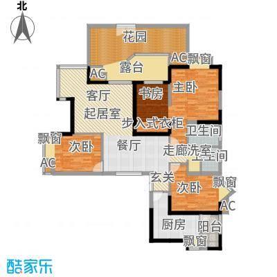 锦江帆影151.32㎡E1b型面积15132m户型