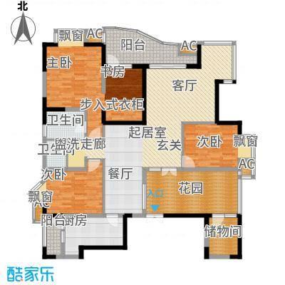 锦江帆影40.00㎡面积4000m户型