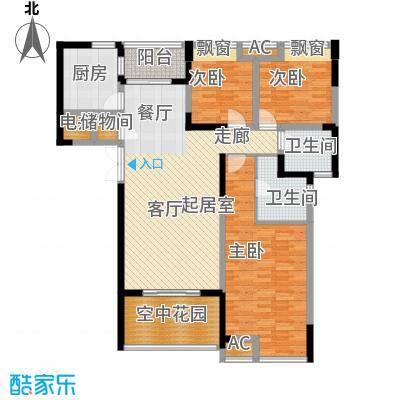 锦江帆影23.00㎡面积2300m户型
