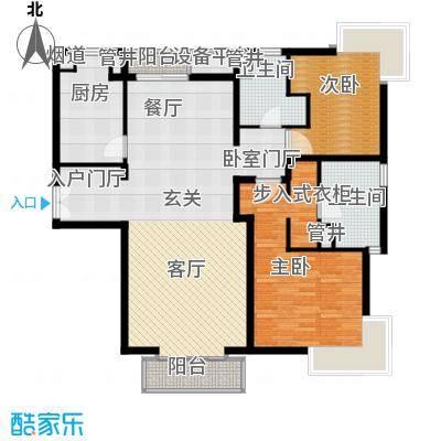 尚浦领世133.00㎡户型