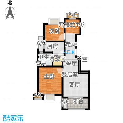 旭辉朗悦庭89.00㎡C3户型