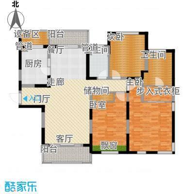 仁恒森兰雅苑二期148.09㎡二期L-1户型