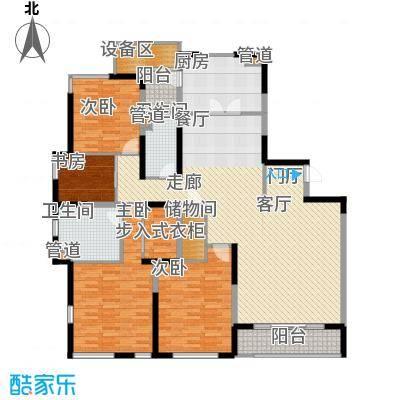 仁恒森兰雅苑二期186.07㎡二期C户型