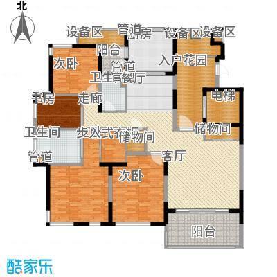 仁恒森兰雅苑二期183.21㎡观邸C户型