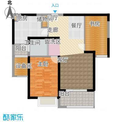 仁恒森兰雅苑二期91.53㎡铭寓AⅡ户型