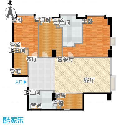 华侨城苏河湾塔尖住宅163.00㎡A5户型