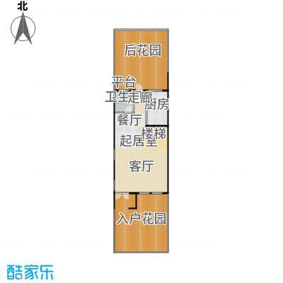 华纺易墅上海湾133.00㎡A地上一层户型