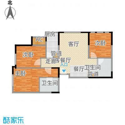 中冶昆庭112.00㎡户型