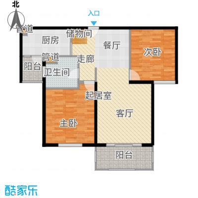 金鼎香樟苑88.00㎡A2户型