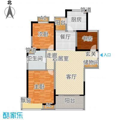 金鼎香樟苑113.00㎡C2户型