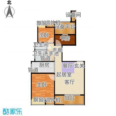 万源城尚郡91.00㎡锦绣户型