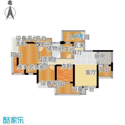 书香府邸117.10㎡2面积11710m户型