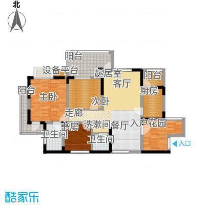 书香府邸103.51㎡2面积10351m户型