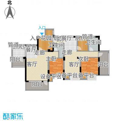 书香府邸66.47㎡1面积6647m户型