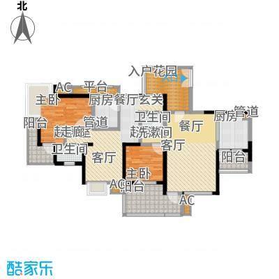 书香府邸61.59㎡1面积6159m户型