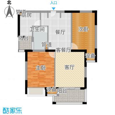 新虹桥雅苑90.00㎡B2户型