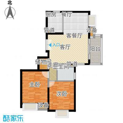 新虹桥雅苑94.00㎡户型