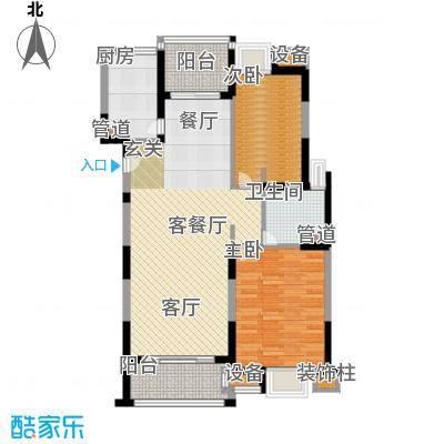 新虹桥雅苑90.00㎡B6户型