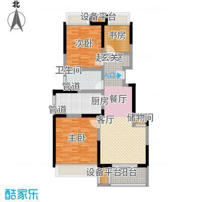 招商虹桥华府93.00㎡B户型