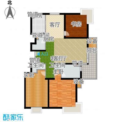 马陆清水湾公寓162.00㎡户型