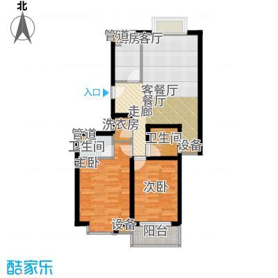 马陆清水湾公寓114.71㎡1户型