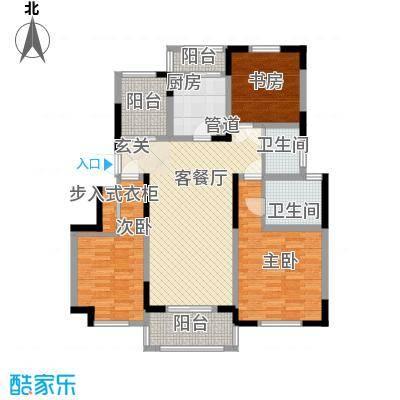 悦上海142.00㎡农房C1户型