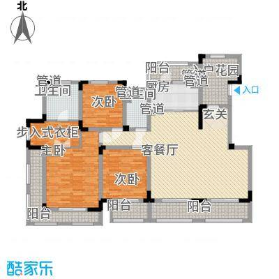 悦上海185.00㎡标准层F3户型
